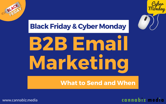 Black Friday and Cyber Monday B2B Email Marketing – What to Send and When