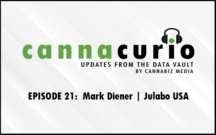 Cannacurio Podcast Episode 21 with Mark Diener of JULABO