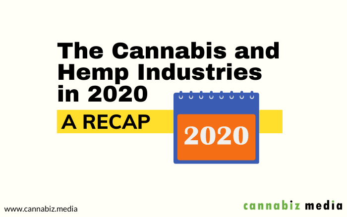 The Cannabis and Hemp Industries in 2020 – A Recap