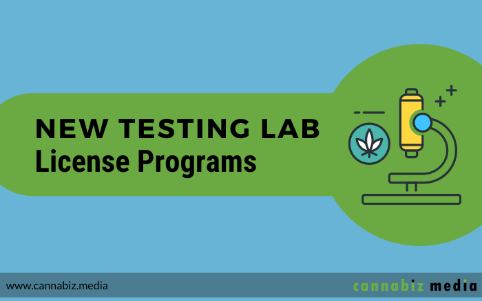 New Testing Lab License Programs