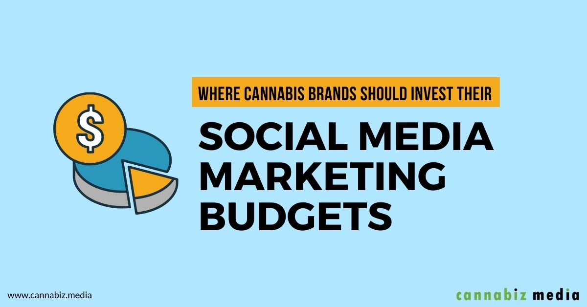 Where Cannabis Brands Should Invest Their Social Media Marketing Budgets