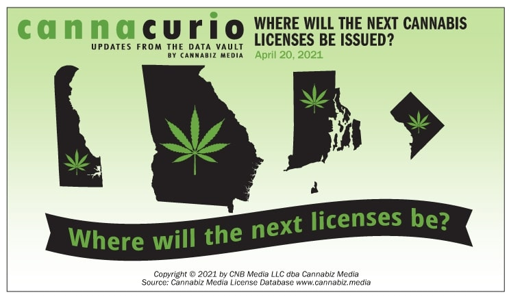 Cannacurio #43: Where Will the Next Cannabis Licenses Be Issued?