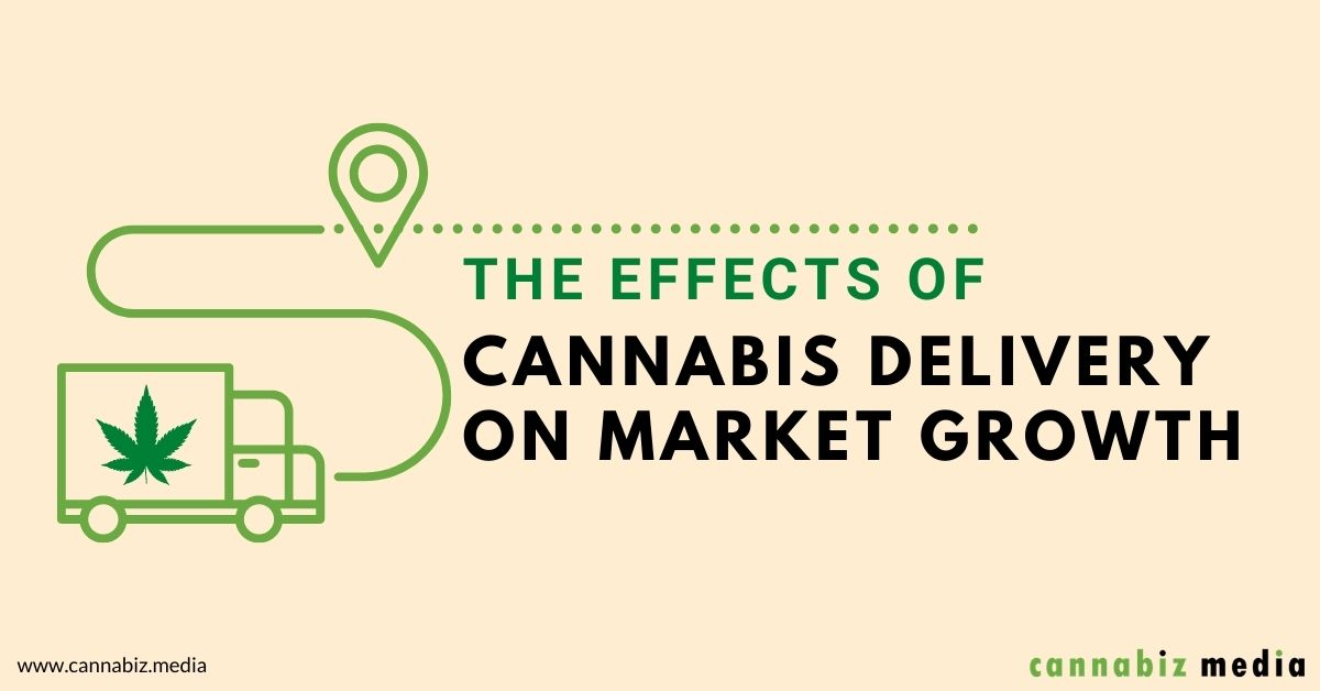 The Effects of Cannabis Delivery on Market Growth