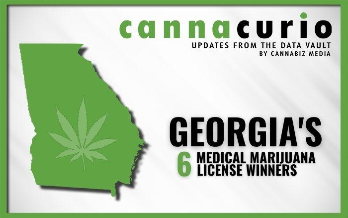 Georgia Announces Winners of 6 Medical Marijuana Licenses