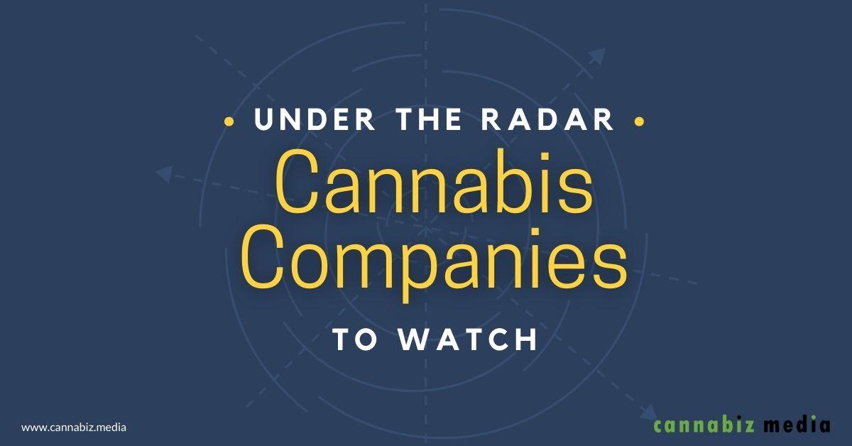 Under the Radar Cannabis Companies to Watch