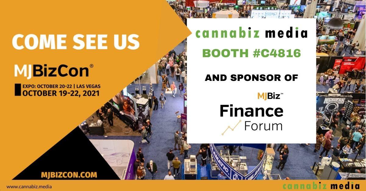 Visit Cannabiz Media at Booth C4816 at MJBizCon in Las Vegas