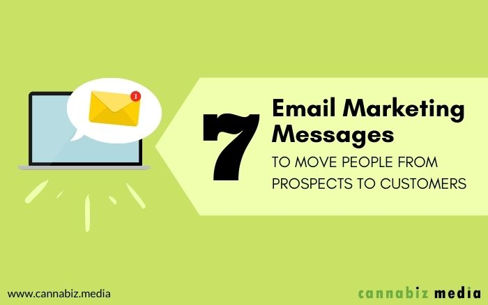 7 Email Marketing Messages to Move People from Prospects to Customers