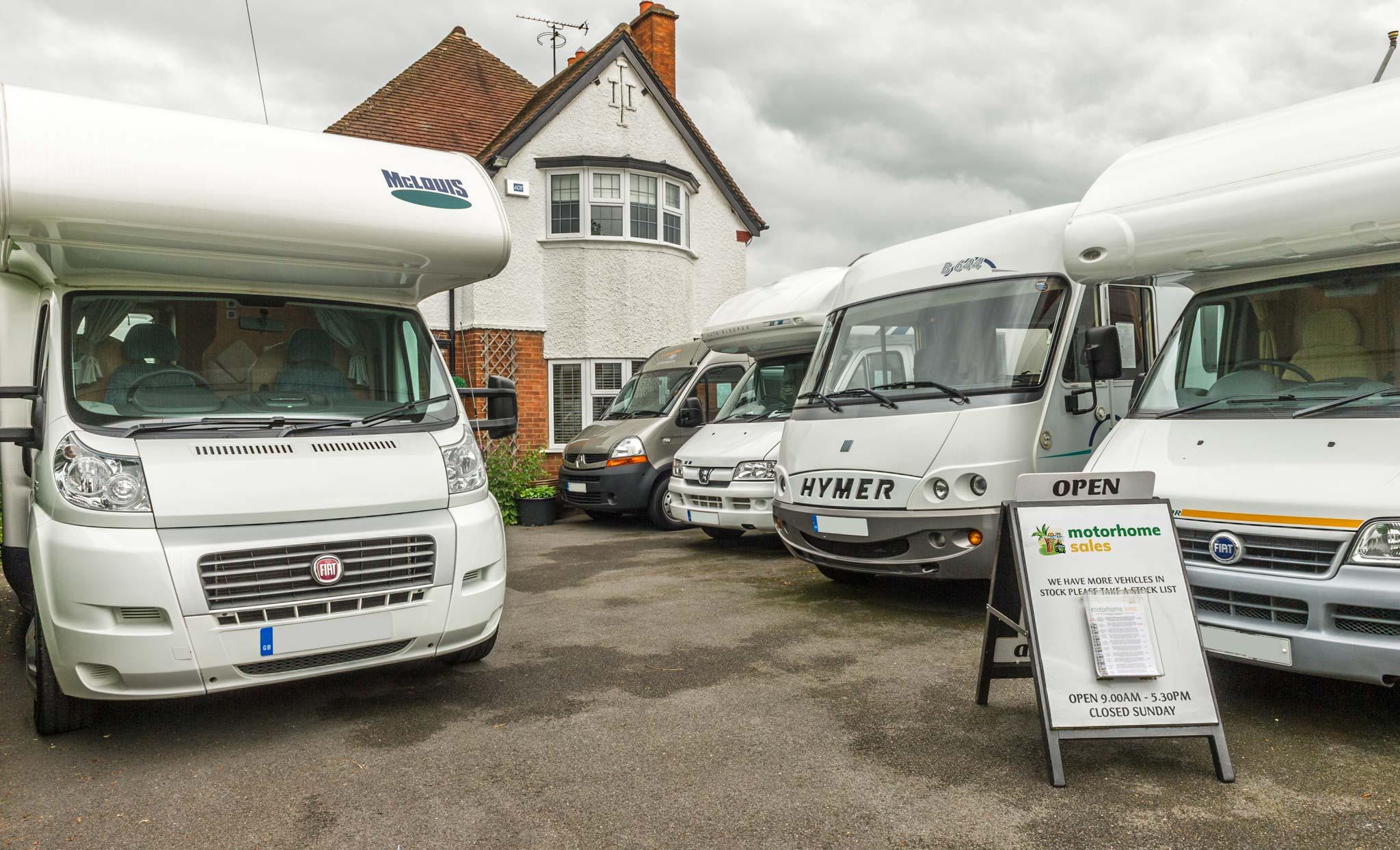 Motorhome Sales - Warwickshire