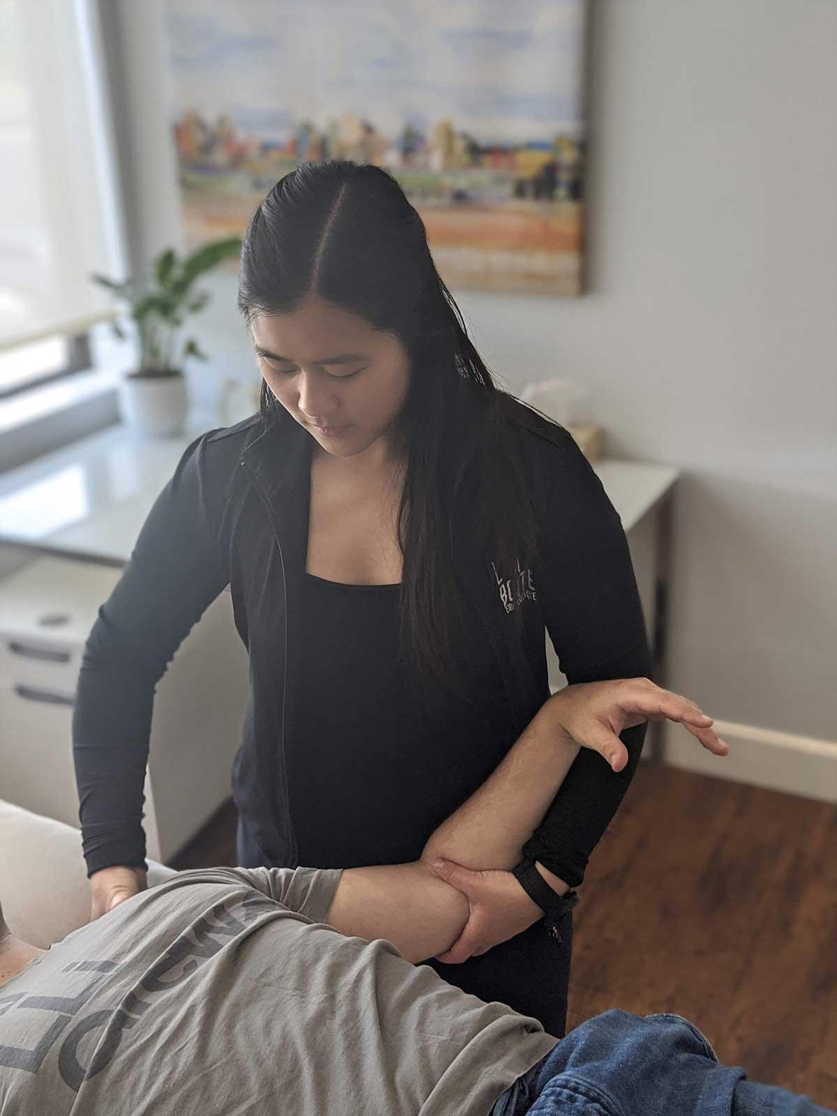 Traitement physiothérapeutique