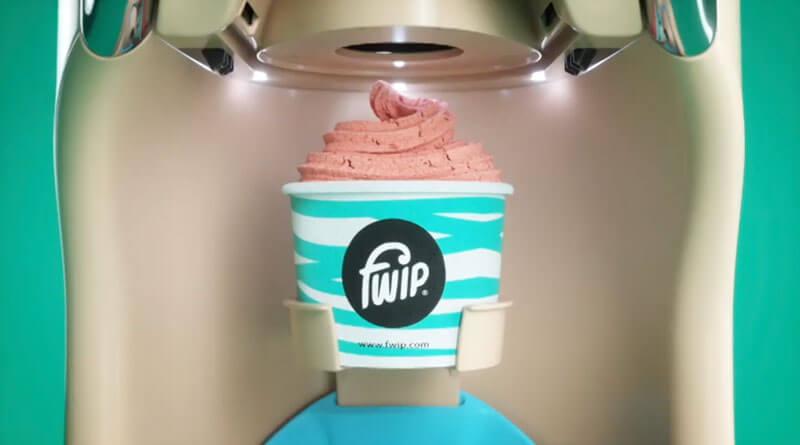 ready ice cream from portobello machine