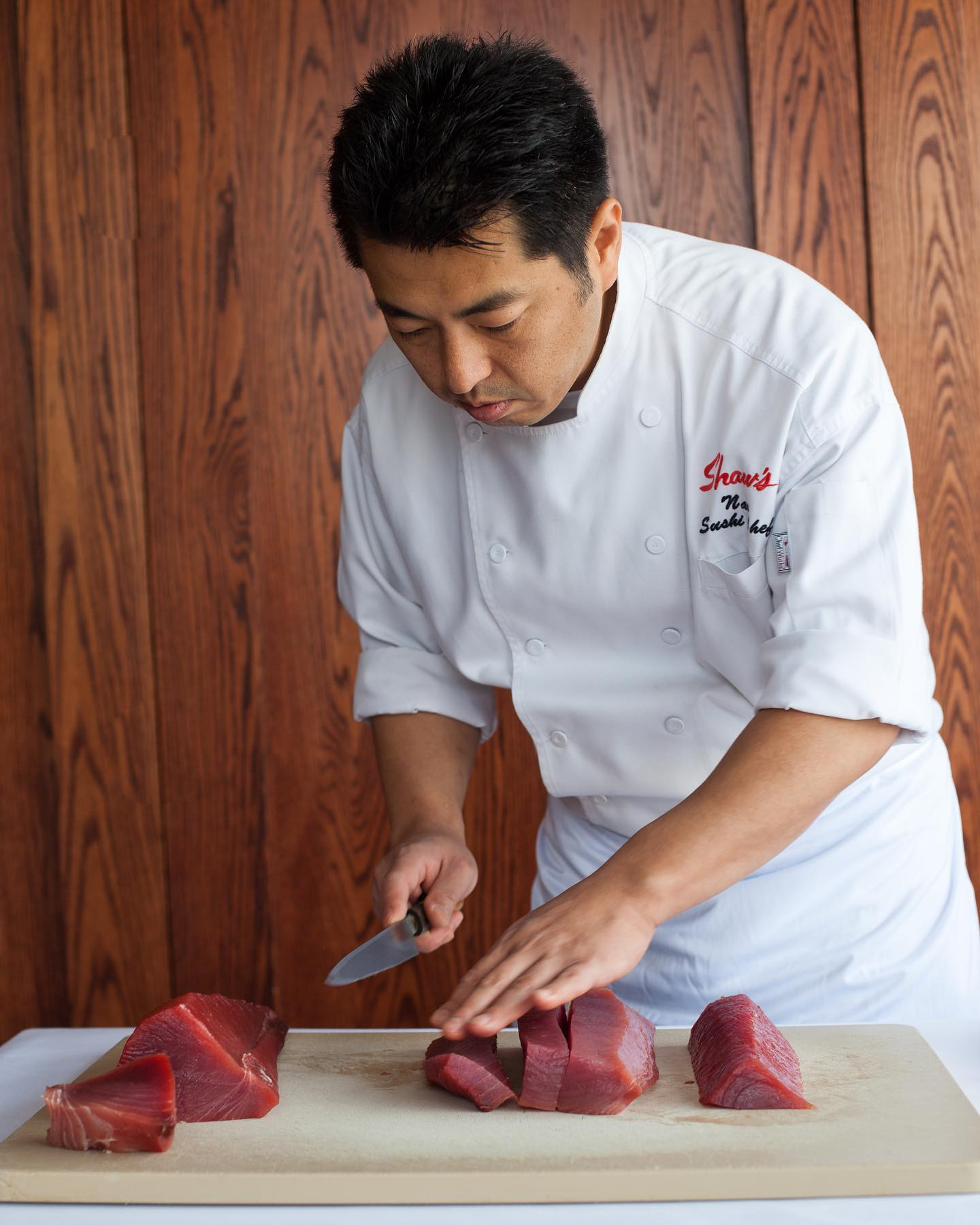 Naoki Nakashima Shaw's Crab House Chef