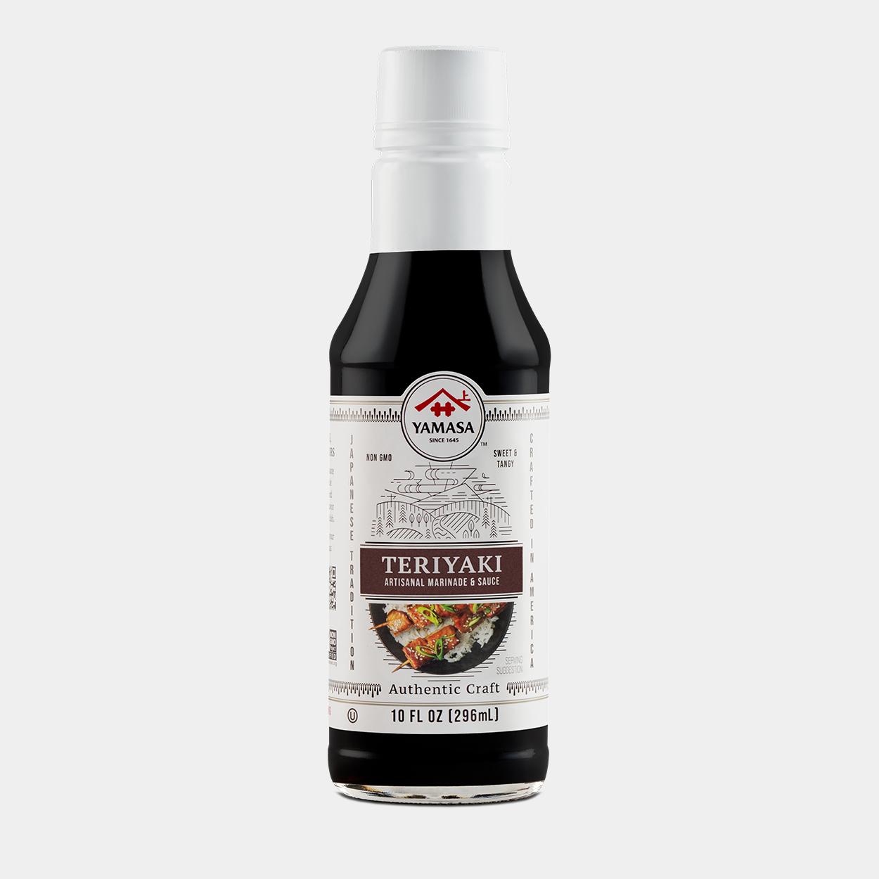 Image of a bottle of Yamasa Teriyaki Artisanal Marinade & Sauce.