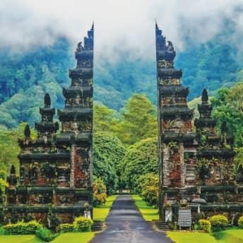 Bali Indonesia Temple