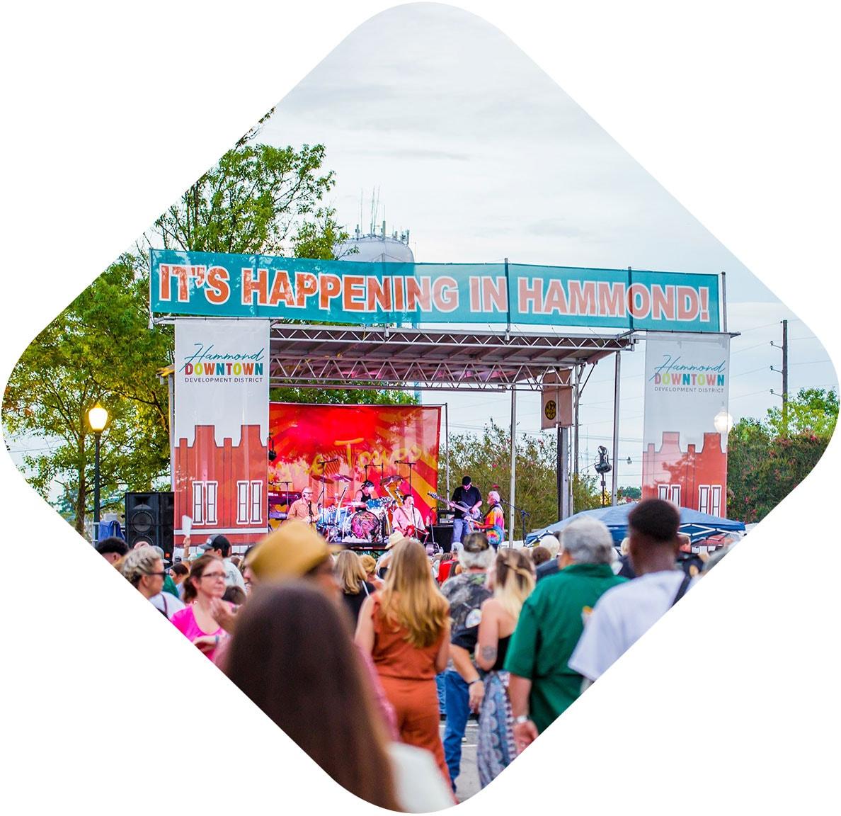 Hot Augusts Night 2018 concert in Hammond, LA