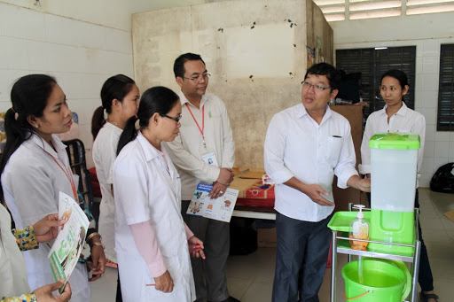 Innovations in Hygiene: Healthcare Facilities