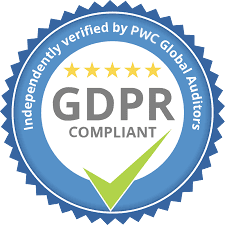GDPR Independantly verified by PWC Global Auditors