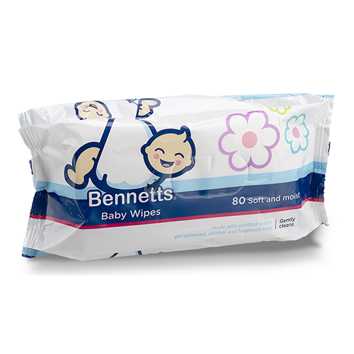 Bennetts® Baby Wipes
