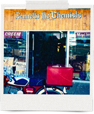 A photograph of the original Bennetts Chemist