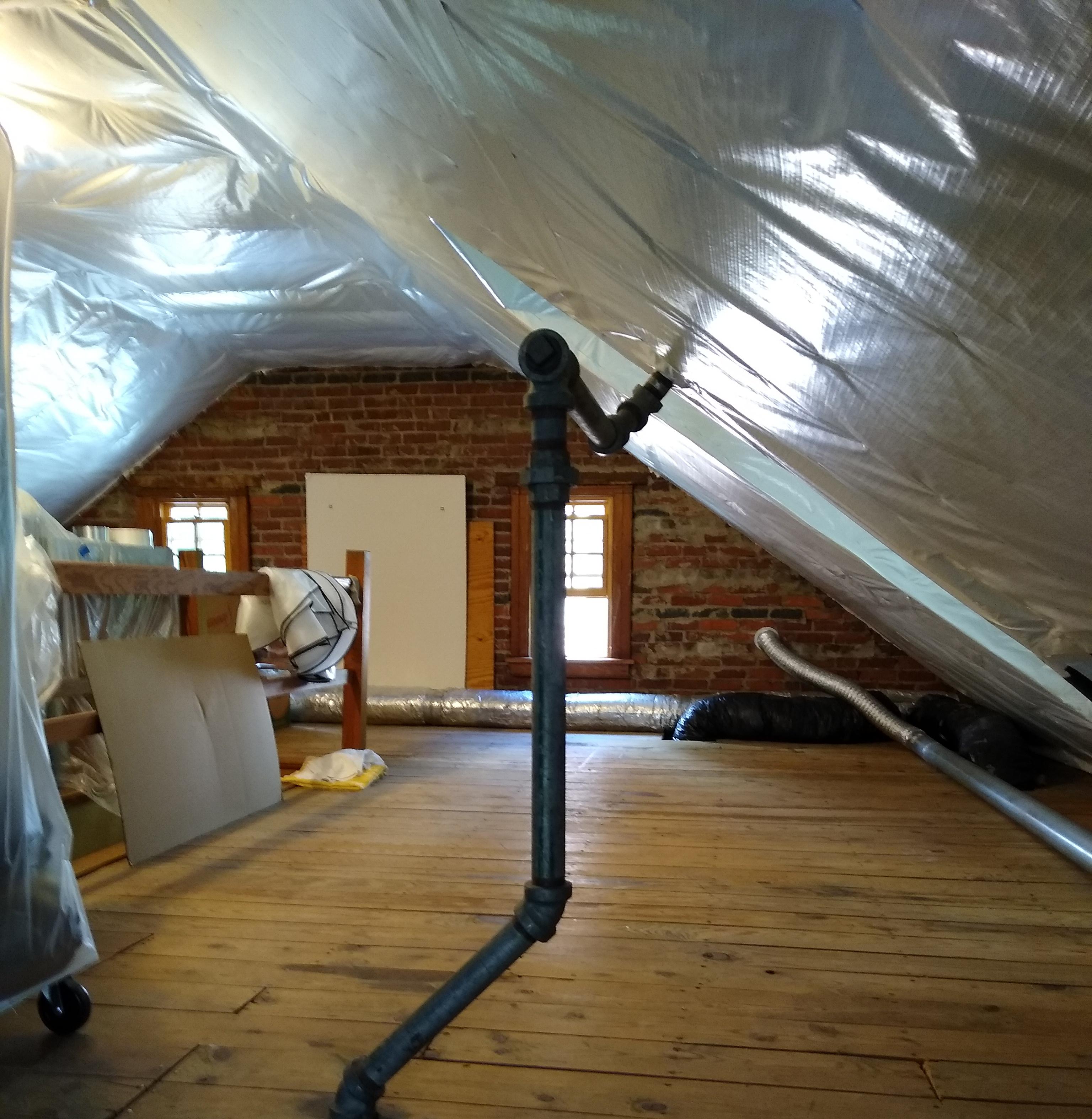 Tredegar Construction offers attic insulation solutions in the Richmond VA metro area