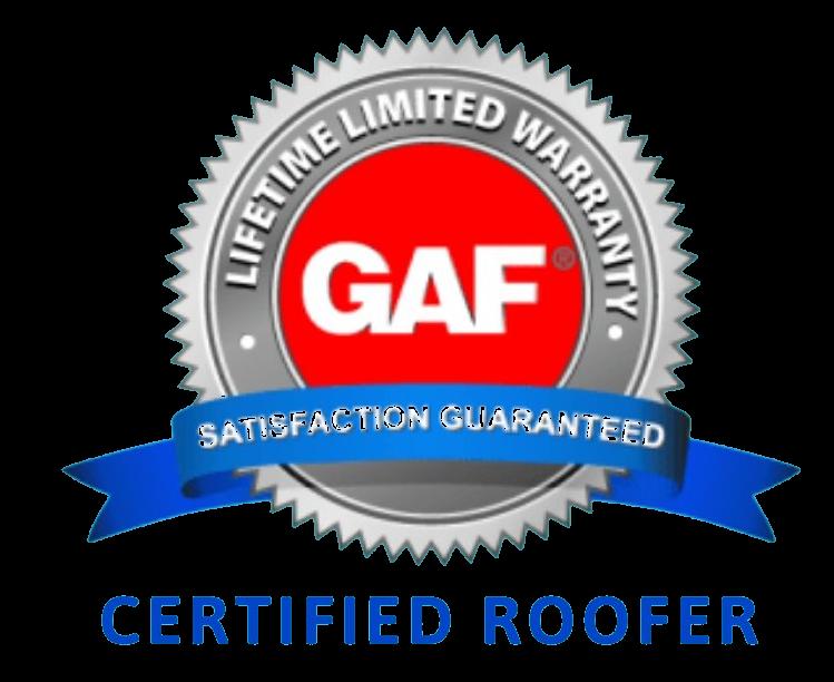 Tredegar Construction is a certified GAF installer in the Richmond VA metro area