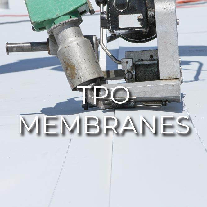Tredegar Construction installs tpo membrane roofing in the Richmond metro area