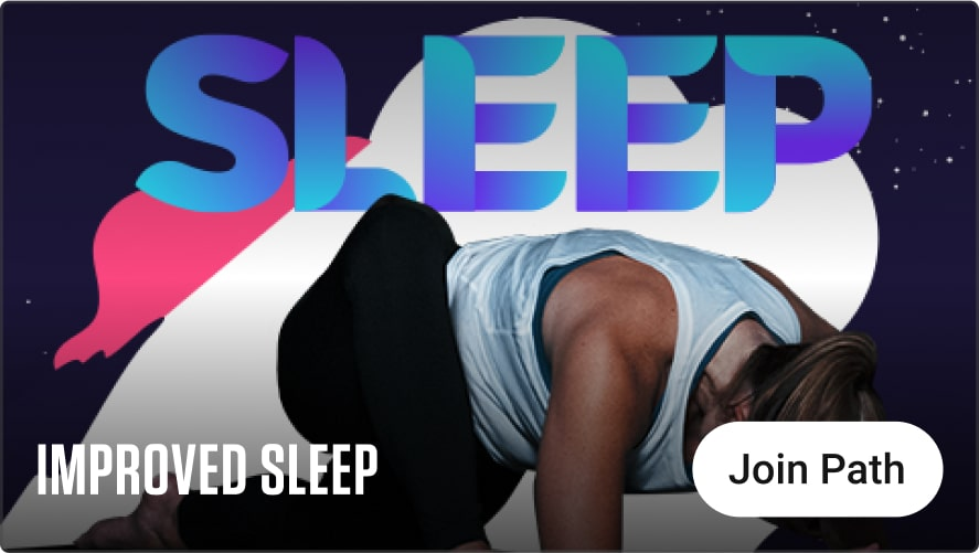 Experience improved sleep with this relaxing pathway