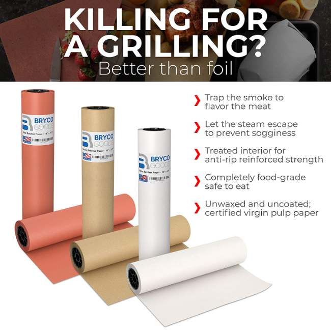 Explanation Of Superior Quality Of Our Kraft Butcher Paper When Compared To Aluminum Foil