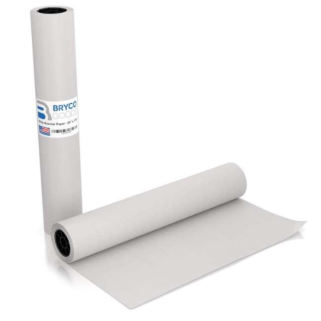 White Kraft Butcher Paper Roll | Long 24 Inch x 175 Feet (2100 Inch)