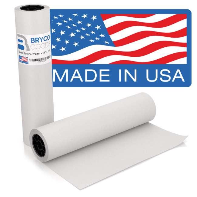 White Kraft Butcher Paper Roll | 18 Inch x 175 Feet (2100 Inch)