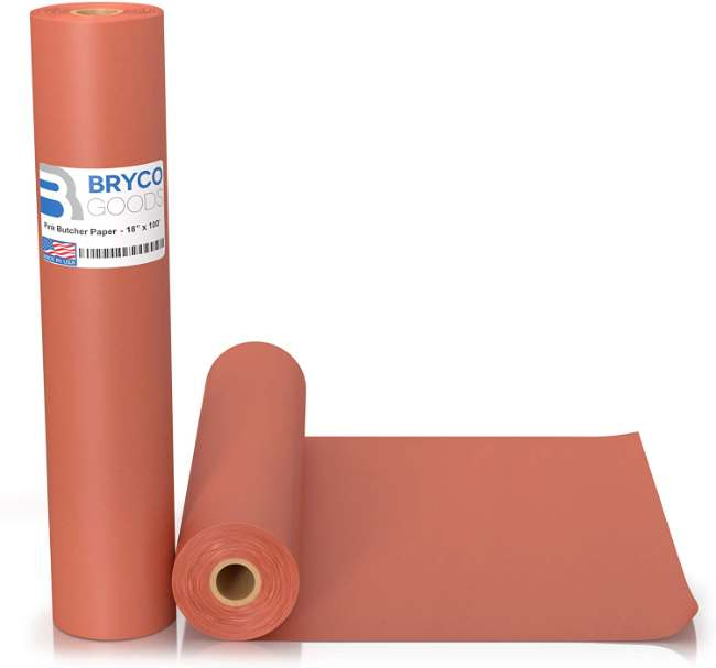 Food Grade Peach Wrapping Paper for Smoking Meat of all Varieties | Unbleached, Unwaxed, and Uncoated | Made in the USA