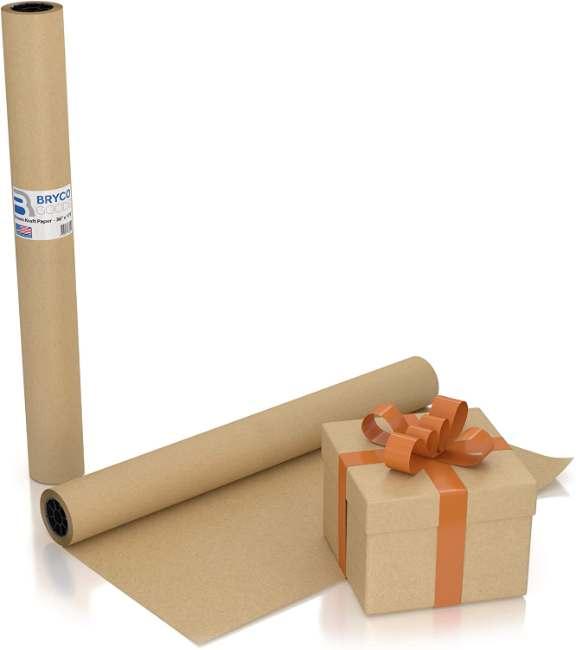 "Large Brown Kraft Paper Roll | 36"" x 1200"" (100 ft)"