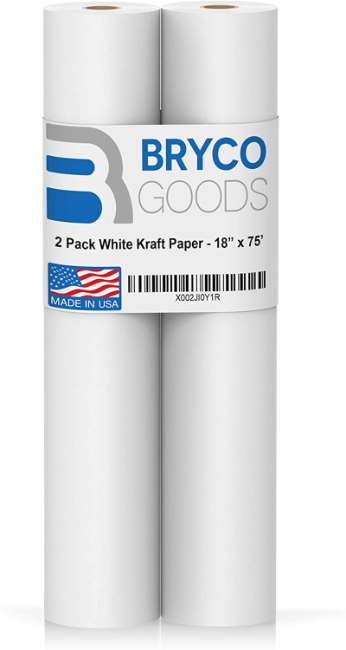 Ideal for Paints, Wall Art, Easel Paper, Fadeless Bulletin Board Paper, Gift Wrapping Paper and Kids Crafts | Made in USA
