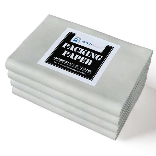 640 Sheets of Newsprint Paper - Must Have in Your Moving Supplies - Made in USA