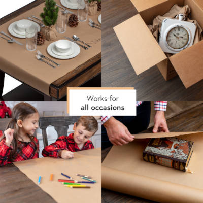 Decorate Your Event Tables With Kraft Arts & Crafts Paper