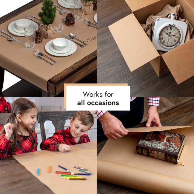 All The Occasions To Use Bryco Brown Kraft Paper