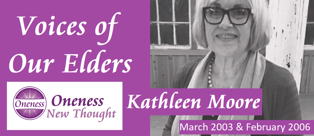 Voices of Our Elders: Kathleen Moore