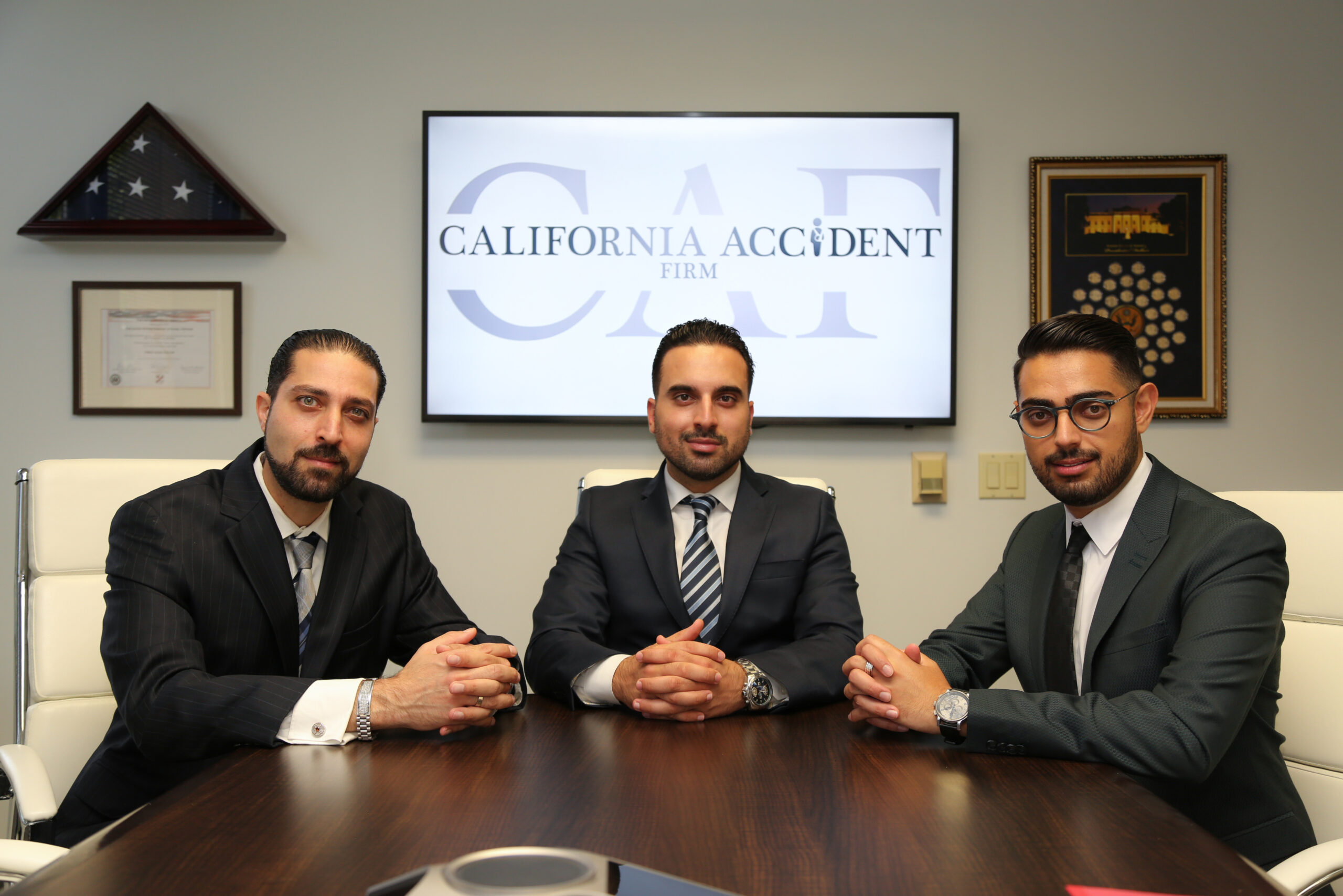 Team at California Accident Firm