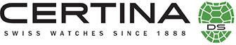 Uhren Logo Certina der zertifizierten Uhrenmeisterwerkstatt Dostal