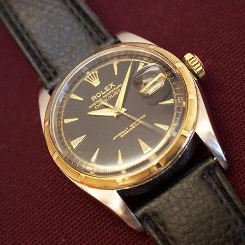 Historische Rolex Uhr beim Service in der Uhren Meisterwerkstatt Dostal.