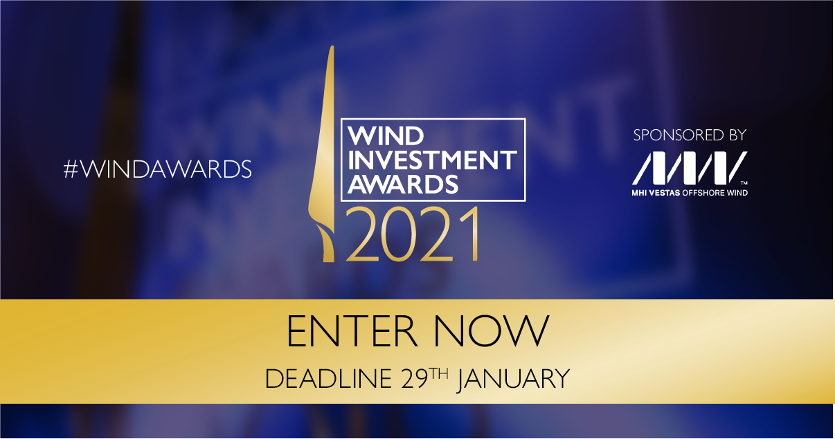 10 reasons to enter the Wind Investment Awards 2021