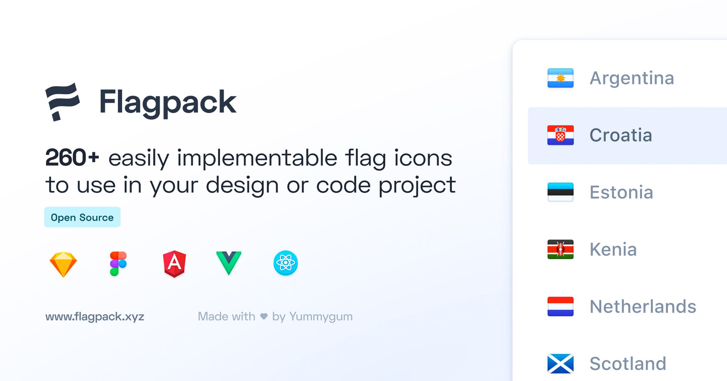 Flagpack