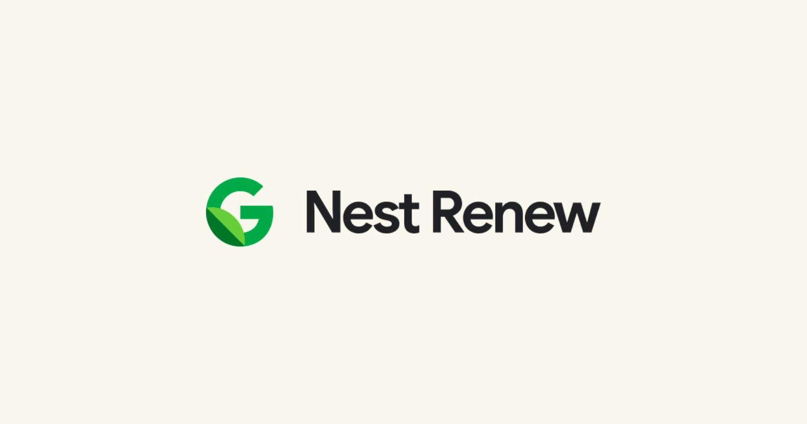 Nest Renew