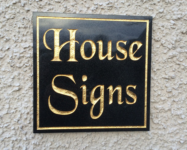 House Signsand Plaques in Slough and Maidstone