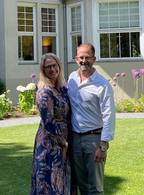 Christiane Winter-Thumann und Alexander Winter von der arcona Management GmbH