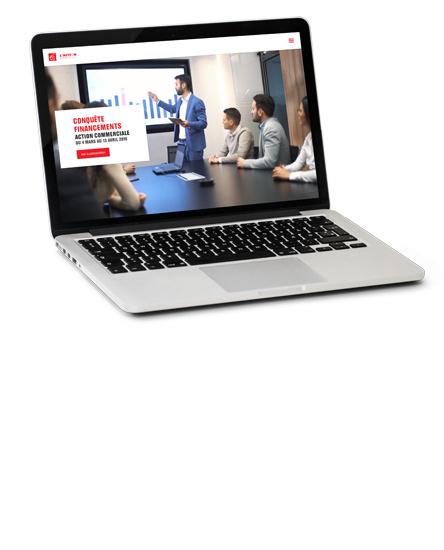 Présentation formation interactive pour Caisse d'Epargne