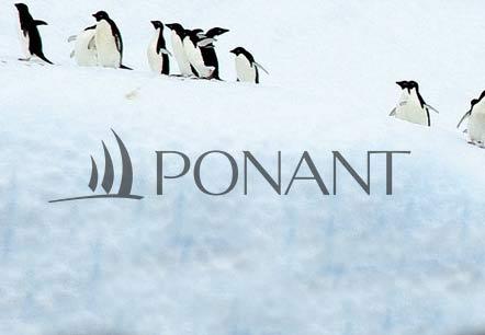 Exemple de présentation corporate pour Ponant