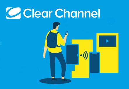 Exemple de présentation d'étude interactive et animée pour Clear Channel