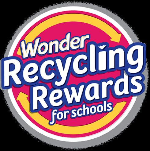 Wonder Recycling Rewards for Schools logo