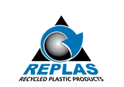 Replas Recycled Plastic Products Logo