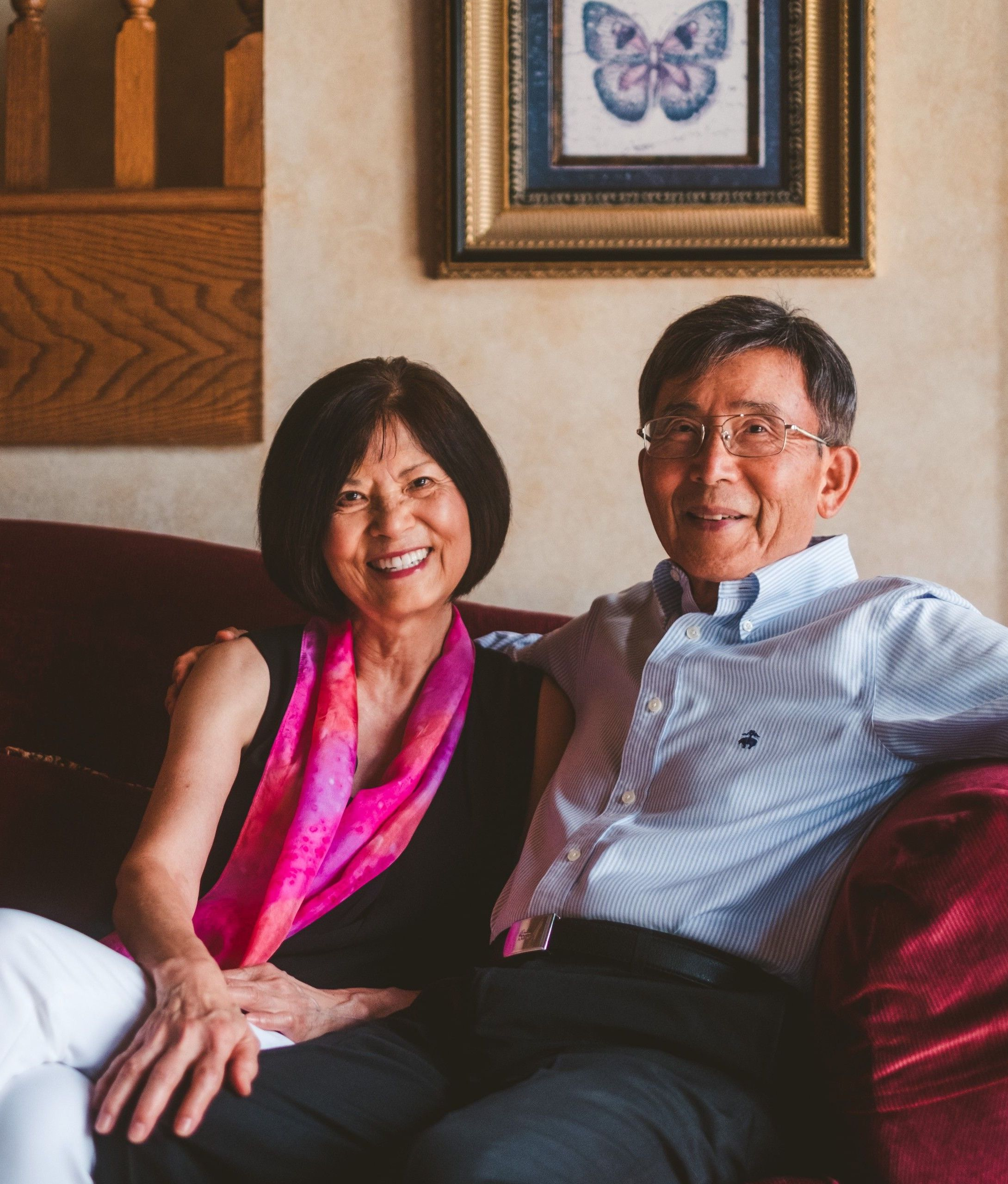 Medium shot of CFGC Donor Dr. Ruth Liu